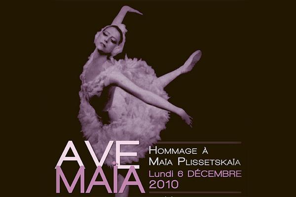 AVE MAIA: 85th Birthday Concert for Maya Plisetskaya at Champ-Elysees, Paris