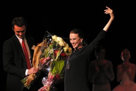 Maya Plisetskaya 80th birthday tribute at London Opera House