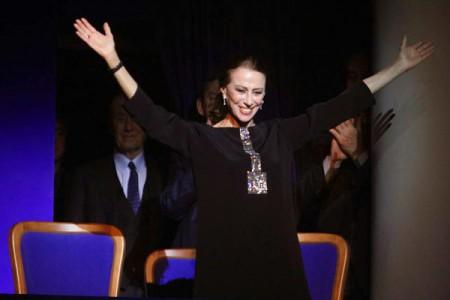 85th Birthday Concert for Maya Plisetskaya at the Stanislavsky and Nemirovich-Danchenko Music Theatre, Moscow