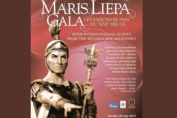 Maris Liepa Gala at London Coliseum 29th of July, 2012