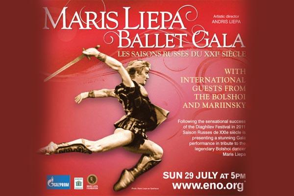 Review: Maris Liepa Gala at London Coliseum 29th of July, 2012