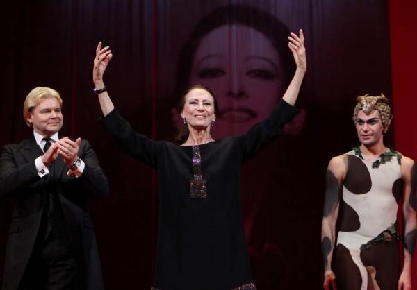 85th Birthday Concert for Maya Plisetskaya at the Stanislavsky and Nemirovich-Danchenko Music Theatre