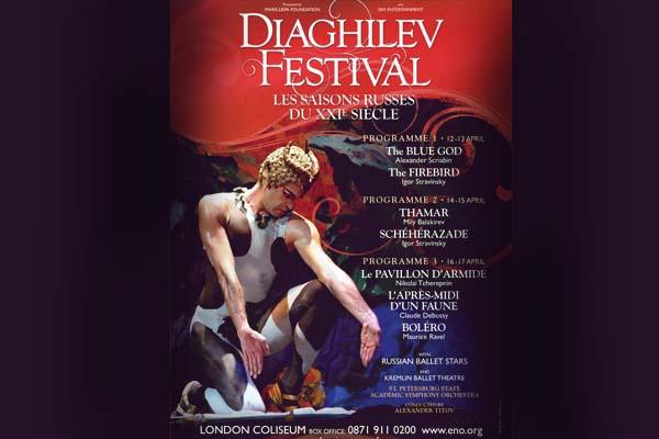 London's Coliseum satisfies a Sergei in demand with 2011 Diaghilev festival: Les Saisons Russes du XXI Siecle