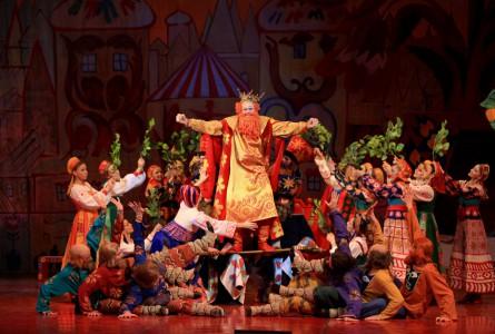 «Петушок» поженил оперу с балетом.  Театр им. Сац воскрешает проект Дягилева