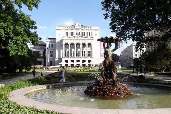 Русские сезоны XXI века» в Риге.  Латвийская Национальная опера.