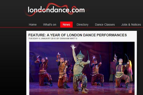 «London Dance»: итоги 2014 года